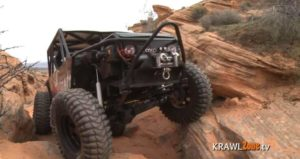 Chain Reaction Trail Jeep rock crawling 1